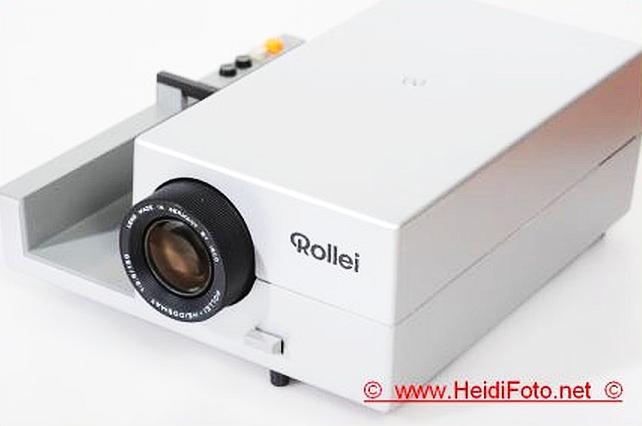 Rollei P66 A Diaprojektor P 66 f.6x6 Mittelformat 150mm Heidosmat